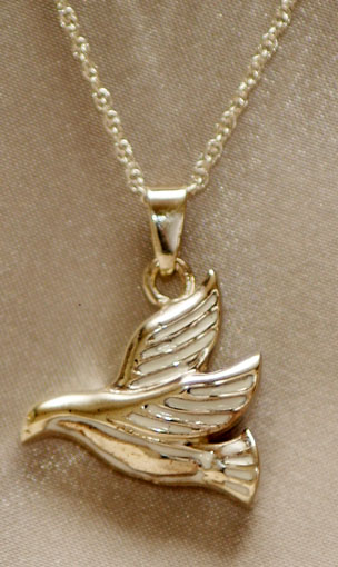 Sterling silver dove pendant urns for cremation sterling silver dove cremation urn pendant aloadofball Image collections